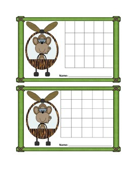 Incentive Charts with A Jungle Flyers Theme