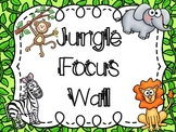 Jungle Focus Wall with EDITABLE Headers and Banner