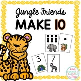 Friends of Ten Number Facts Game {Jungle Friends Make 10!}