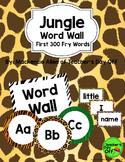 Jungle Fry Word Wall
