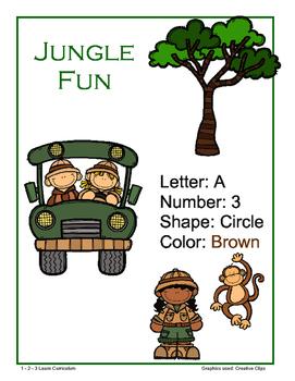 Jungle Fun Lesson Plan - Week 1