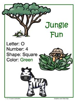 Jungle Fun Lesson Plan - Week 2