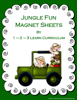Jungle Fun Magnet Sheets