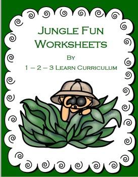 Jungle Fun Worksheets