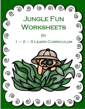 Jungle Fun Worksheets