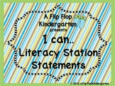 Jungle Green Lables, I Can Statements, and Classroom Helpers