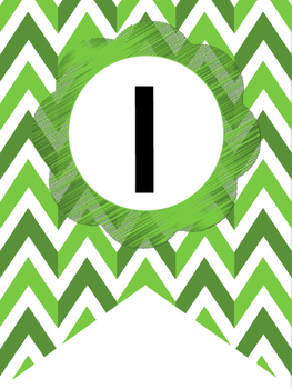 Jungle Green Welcome Bunting. Printable Classroom Accessories.