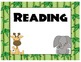 Jungle Headers for I-can Learning Objectives