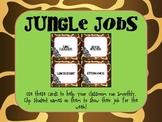 Jungle Helper Job Cards- WHITE BACKGROUND