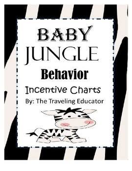 Incentive Charts with a Baby Jungle Theme