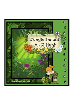 Jungle Insect A-Z Hunt – C/C Aligned and DIfferentiated