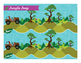 Jungle Jeep short vowel e, long vowel ee Phonics Game - Words Their Way Game