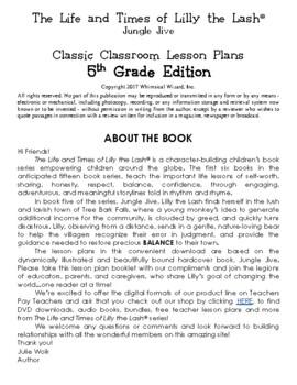 Jungle Jive Classic Classroom Lesson Plans: 5th GRADE EDITION