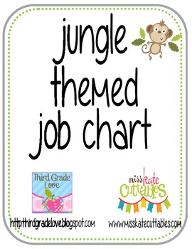 Jungle Job Chart