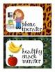 Jungle Jobs Safari Themed for the Classroom, Bulletin Board Pack, over 30 jobs!