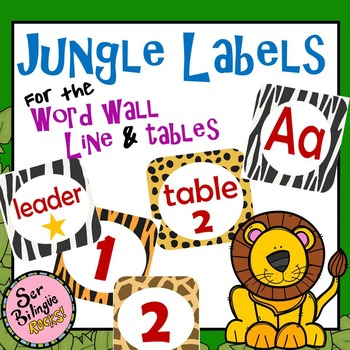 Jungle Labels