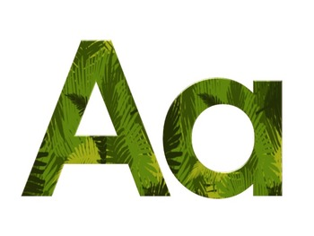 Jungle Letters