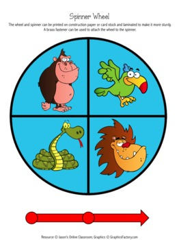 Jungle Graphing Activity