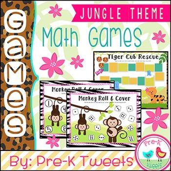 Jungle Math Games