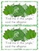 Jungle Worksheets Emergent Reader Task Cards