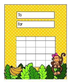 Jungle Monkeys {Classroom Theme}