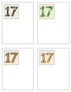 Jungle Number Book