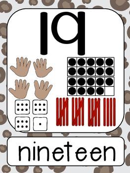 Jungle Number Line