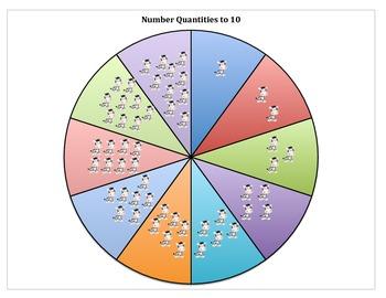 Jungle Number Wheel