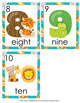 Jungle Number Words Write the Room Activity
