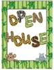 Jungle Open House Signs
