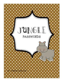 Jungle Passwords
