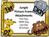 Zoo or Jungle Picture Attachments For First Day, 100 Day,