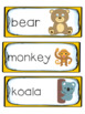 Jungle Safari Literacy and Math Pack