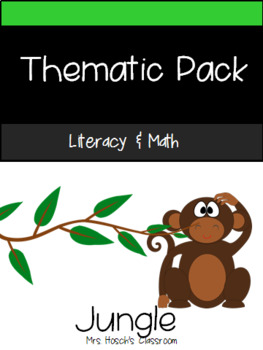 Thematic Literacy & Math Pack: Jungle