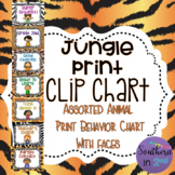 Jungle Print Clip Chart {WITH FACES}