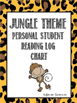 Jungle Print Reading Logs