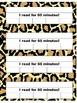 Jungle Print Reading Logs