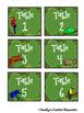 Jungle / Rainforest Table Labels (Baskets, team points, etc)