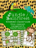 Jungle/ Rainforest Themed Classroom {Decor, Classroom Management & Much More!}