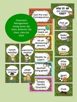 Jungle/ Rainforest Themed Classroom {Decor, Classroom Management & Much More!}