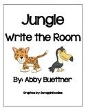Jungle Rainforest Write the Room