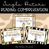 Jungle Reading Comprehension Posters