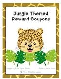 Jungle Reward Coupons- Positive Classroom Management