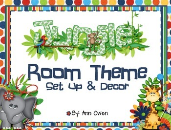 Jungle Room Theme - Set Up & Decor