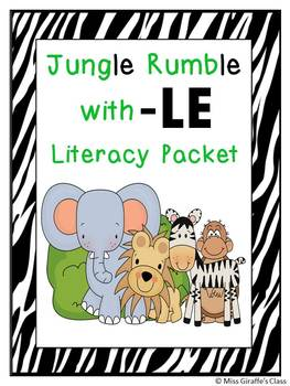 Final Stable Syllables -LE Sound Worksheets and Centers