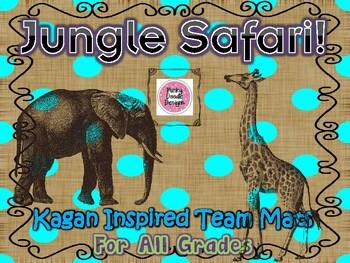 Jungle Safari Kagan Inspired Team Mats