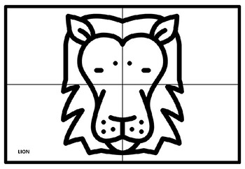 Jungle Safari, Africa Collaborative Art Project, Coloring Pages, Elementary Art