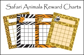 Jungle Safari Animals Incentive Rewards Bundle