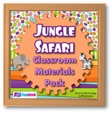 Jungle Safari Animals Themed Classroom Bundle
