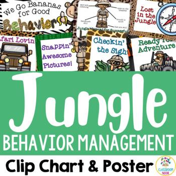 Jungle Safari Theme: Behavior Management Chart & Poster